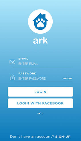 Ark Community Login Screen